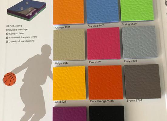 Sports Vinyl Sheet Flooring